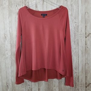 American Eagle Soft & Sexy Long Sleeve Shirt